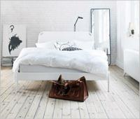 Бели тухлени стени в интериора на дома