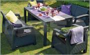 Градински мебели от ратан