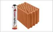 Porotherm 25 N+F Profi - керамичен блок